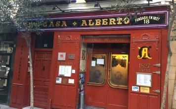 Casa Alberto en el barrio de las Letras