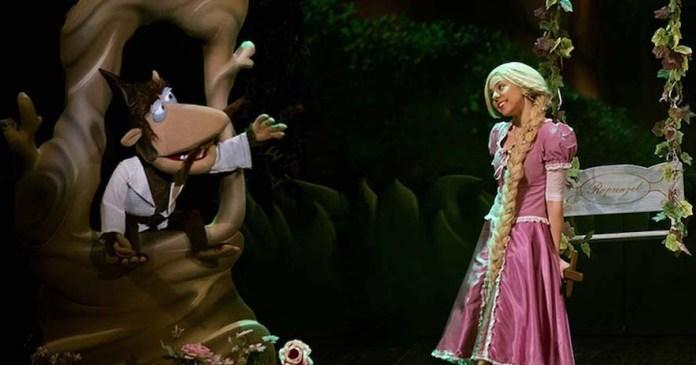 El muscal Rapunzel en el Teatro Cofidis