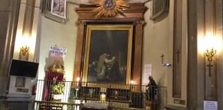La última comunión de san José de Calasanz