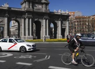 bici en madrid