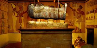 tutankhamon, tumba de tutankhamon, exposicion tutankhamon, exposicion egipto en madrid