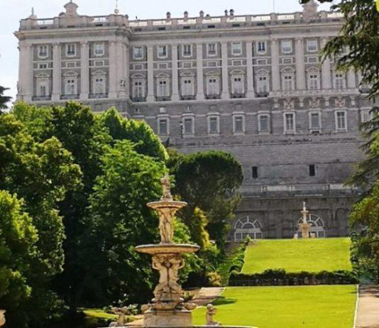 campos del moro palacio real