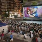 Cine al aire libre en Salamanca 2015