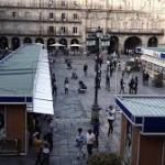 Feria del Libro antiguo en Salamanca Octubre 2015