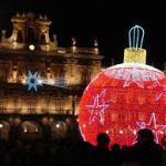 Iluminación Navideña Plaza Mayor de Salamanca 2015 2016