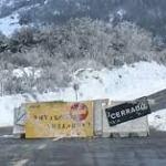 Carreteras cerradas por la nieve en Salamanca 2016
