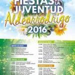 Programa Fiestas de la juventud de Aldearrodrigo 2016
