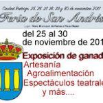 Programa Feria de San Andrés Ciudad Rodrigo 2016