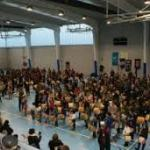 Aldeatejada bate el récord mundial de Guinness de tamborileros 2017