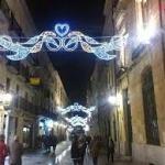 Los comercios de Salamanca se engalanan de Navidad