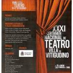 Programa de Teatro Vitigudino 2018