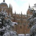 Aviso de nieve en Salamanca Enero 2018