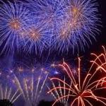 Fuegos artificiales Feria Sevilla 2018