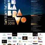 Programa fiestas de Junio Pelabravo 2018