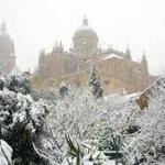 LLega la primera gran nevada a Salamanca Enero 2021