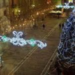 Iluminación de calles en Santa Marta Navidades 2020/21