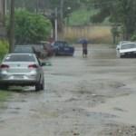 REGIÃO DOS LAGOS – Chuva forte provoca alagamentos na Região dos Lagos neste sábado