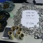 AÇÕES POLICIAIS – Homens são presos com drogas e material para endolação em Cabo Frio