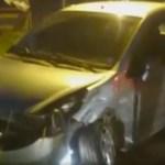 ACIDENTE – Dois carros colidiram na Rodovia Amaral Peixoto, no Bairro Praia Linda, na noite desta quarta (30)