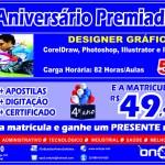 ON BYTE SÃO PEDRO DA ALDEIA – Curso de ADOBE ILLUSTRATOR neste mês com 55% de desconto