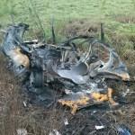 ACIDENTE – Homem morre carbonizado após carro explodir em Rio das Ostras