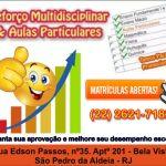 REFORÇO MULTIDISCIPLINAR & AULAS PARTICULARES – EQUAÇÃO DO 2º GRAU