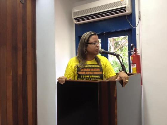 SepeLagos usa Tribuna da Câmara Municipal de Cabo Frio e fala da crise na educação