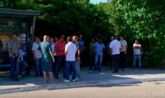 protesto de taxistas em Cabo Frio 5