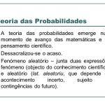 REFORÇO MULTIDISCIPLINAR E AULAS PARTICULARES – Noções básicas da teoria da Probabilidade