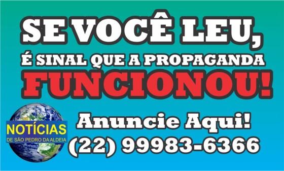 Anuncie no Jornal Notícias de São Pedro da Aldeia