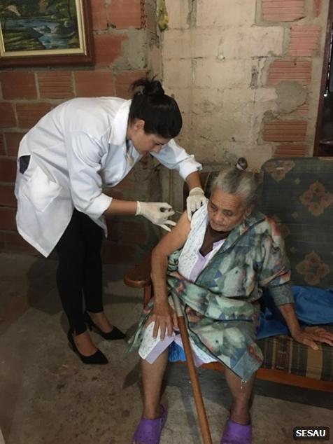 vacinação domiciliar contra H1N1 4