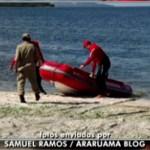 REGIÃO DOS LAGOS – Corpo é encontrado durante buscas após acidente com barco na Lagoa de Araruama