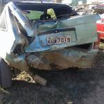 ACIDENTE – Colisão entre moto e carro deixa homem ferido em Praia Linda
