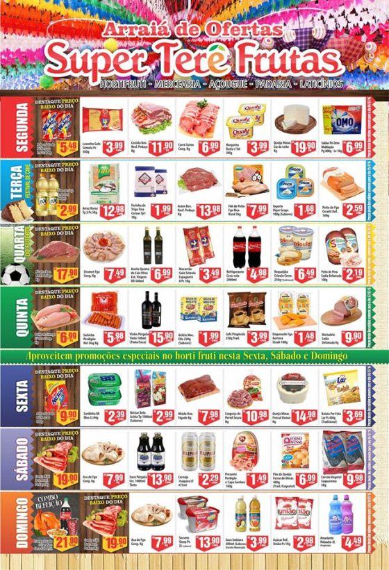 encarte do Terê Frutas 0407