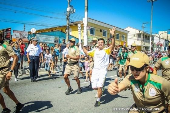 Passagem da Tocha Olímpica por São Pedro da Aldeia8