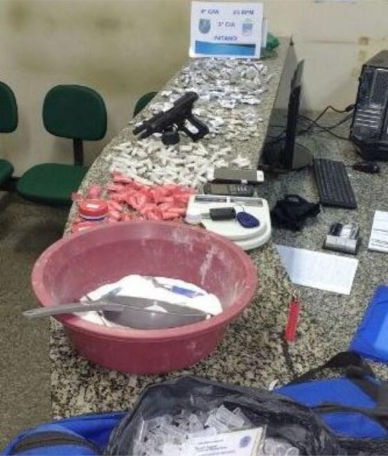 drogas apreendidas pela PM em São Pedro da Aldeia