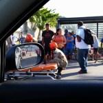ACIDENTE – Mulher é atropelada por moto na Av. Wilson Mendes, em Cabo Frio