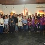 """EXPOSIÇÃO – Continua aberta a exposição """"Mestres e alunos"""" na Casa de Cultura Gabriel Joaquim dos Santos"""