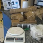 AÇÕES POLICIAIS – PM apreende 7kg de maconha em mata do Jacaré, em Cabo Frio