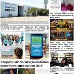 JORNAL NOTÍCIAS DE SÃO PEDRO DA ALDEIA EDIÇÃO NOVEMBRO 2016