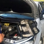 AÇÕES POLICIAIS – Polícia apreende carro com placa clonada e detém mulher na BR-101