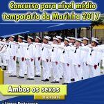CPGEL – Matrículas abertas para o Concurso para Nível Médio Temporário da Marinha 2017