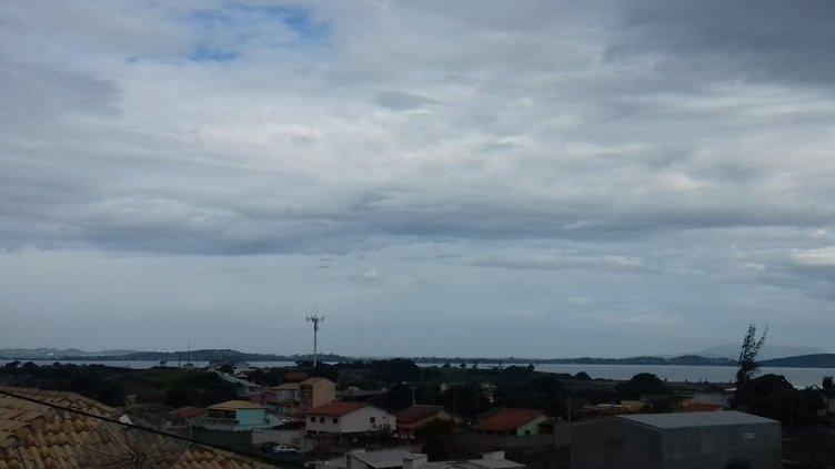 Fim de semana tem previsão de chuva na Região dos Lagos do Rio