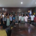 SÃO PEDRO DA ALDEIA – Prefeito Cláudio Chumbinho reúne vereadores para apresentar projeto do SEST/SENAT