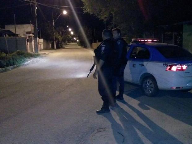 Policiamento foi reforçado no local do homicídio