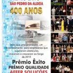 Affer Soluções receberá o Prêmio Êxito São Pedro da Aldeia 400 Anos