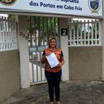 POLÍTICA – Vereadora Mislene de André visita Capitania dos Portos para solicitar Patrulhamento ostensivo na Laguna de Araruama