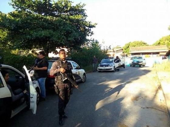 operação em Araruama e Saquarema