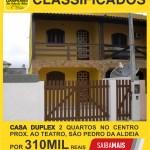 GRANDE OPORTUNIDADE – Linda Casa Duplex com 2 quartos no Centro, São Pedro da Aldeia