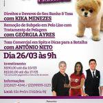 GEORGIA AYRES CENTRO DE ESTÉTICA CANINA – Workshop Premium em São Pedro da Aldeia